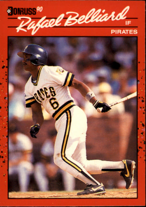 1990 Donruss #252 Rafael Belliard