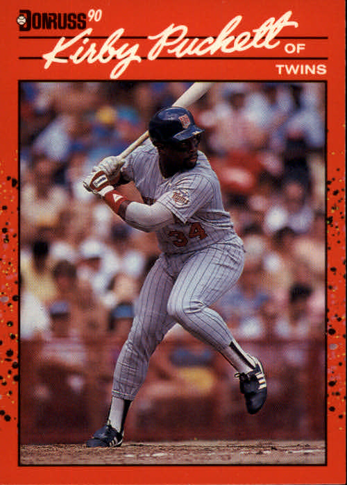 1990 Donruss #269 Kirby Puckett
