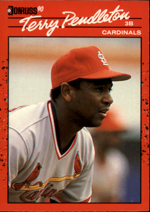 1990 Donruss #299 Terry Pendleton