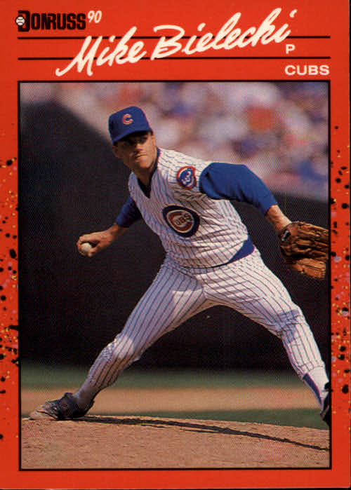 1990 Donruss #373 Mike Bielecki