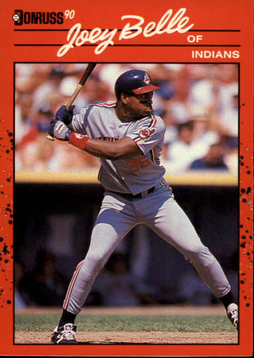1990 Donruss #390 Albert Belle