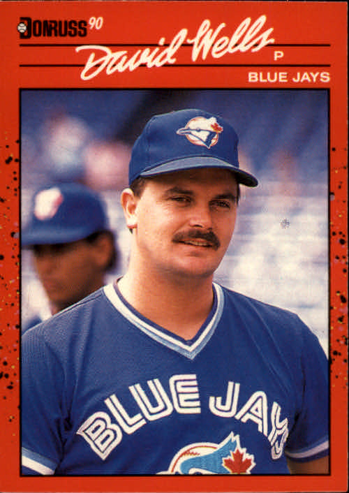 1990 Donruss #425 David Wells