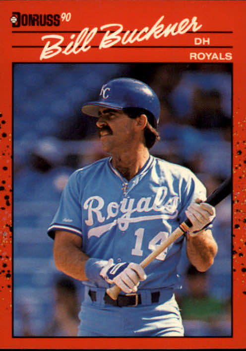 1990 Donruss #474 Bill Buckner