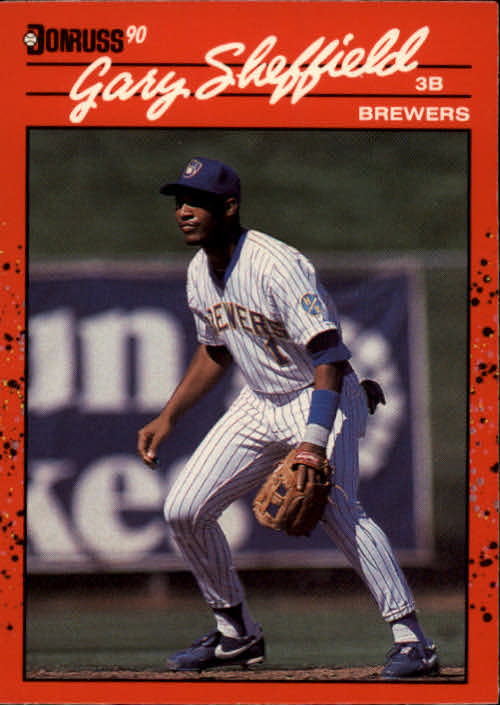 1990 Donruss #501 Gary Sheffield