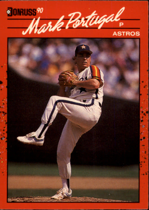 1990 Donruss #542 Mark Portugal