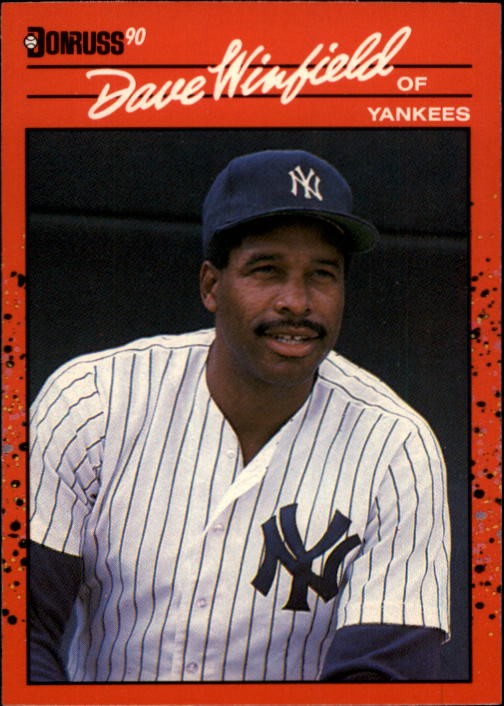 1990 Donruss #551 Dave Winfield