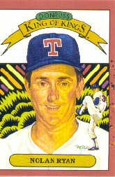1990 Donruss #659A Nolan Ryan 5000K ERR