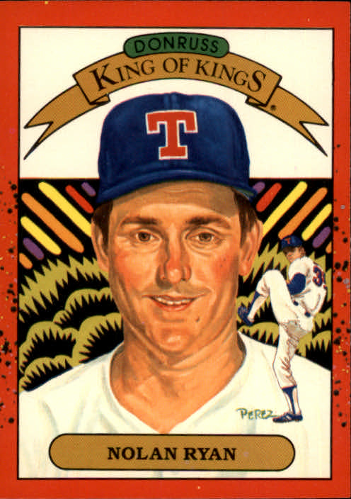 1990 Donruss #665 Nolan Ryan KING