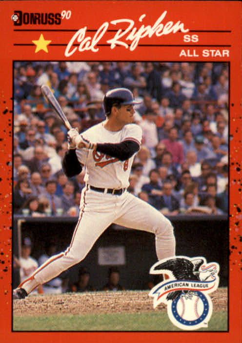 1990 Donruss #676A Cal Ripken AS