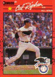 1990 Donruss #676B Cal Ripken AS ERR