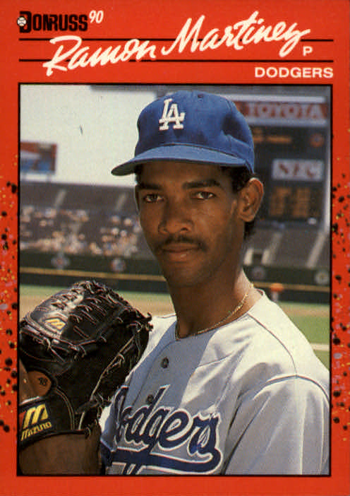 1990 Donruss #685 Ramon Martinez