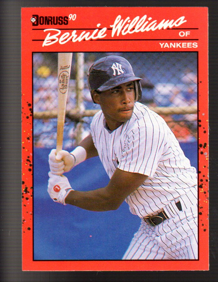 1990 Donruss #689 Bernie Williams RC