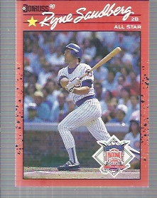 1990 Donruss #692B Ryne Sandberg AS COR