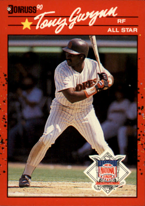 1990 Donruss #705A Tony Gwynn AS ERR