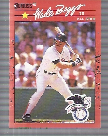 1990 Donruss #712B Wade Boggs AS COR