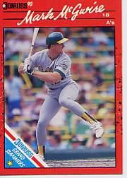 1990 Donruss Grand Slammers #4 Mark McGwire