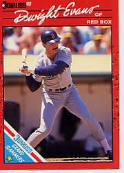 1990 Donruss Grand Slammers #5 Dwight Evans