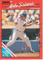 1990 Donruss Grand Slammers #7 Mike Scioscia