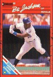 1990 Donruss Grand Slammers #12 Bo Jackson