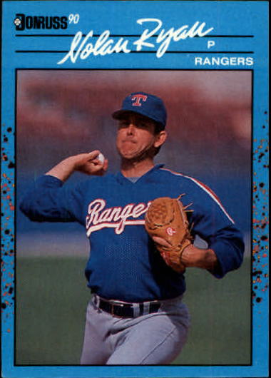 1990 Donruss Best AL #49 Nolan Ryan