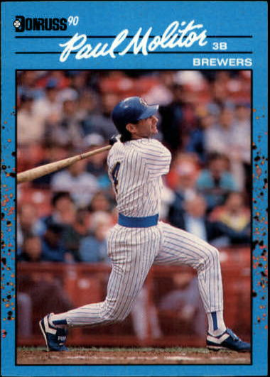 1990 Donruss Best AL #64 Paul Molitor