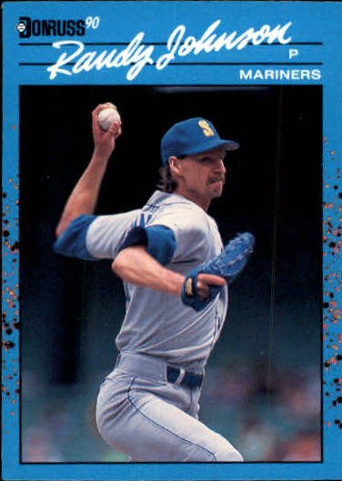 1990 Donruss Best AL #111 Randy Johnson