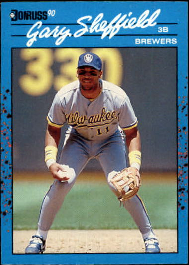 1990 Donruss Best AL #121 Gary Sheffield