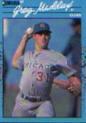 1990 Donruss Best NL #14 Greg Maddux