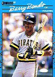 1990 Donruss Best NL #45 Barry Bonds