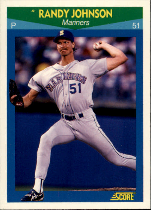 1990 Score Rising Stars #52 Randy Johnson