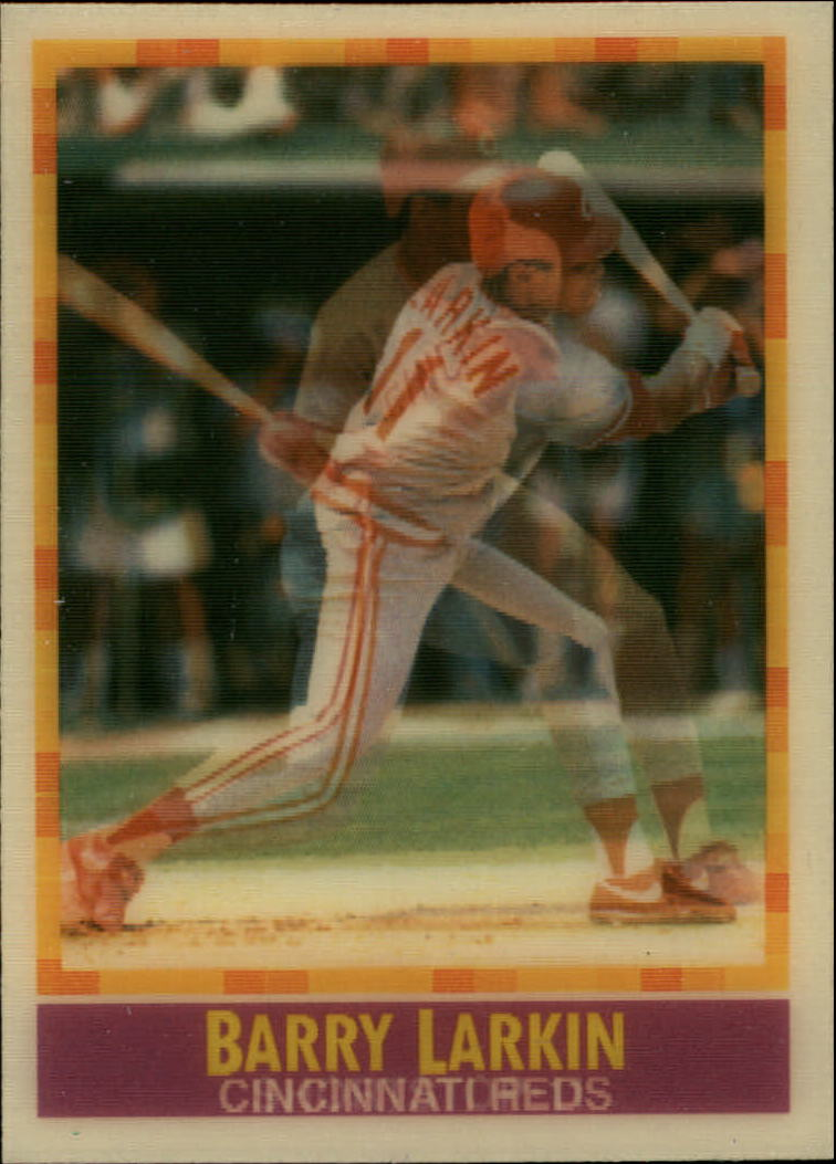 1990 Sportflics #160 Barry Larkin