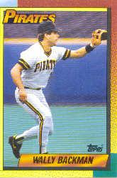 1990 Topps Traded Tiffany #5T Wally Backman
