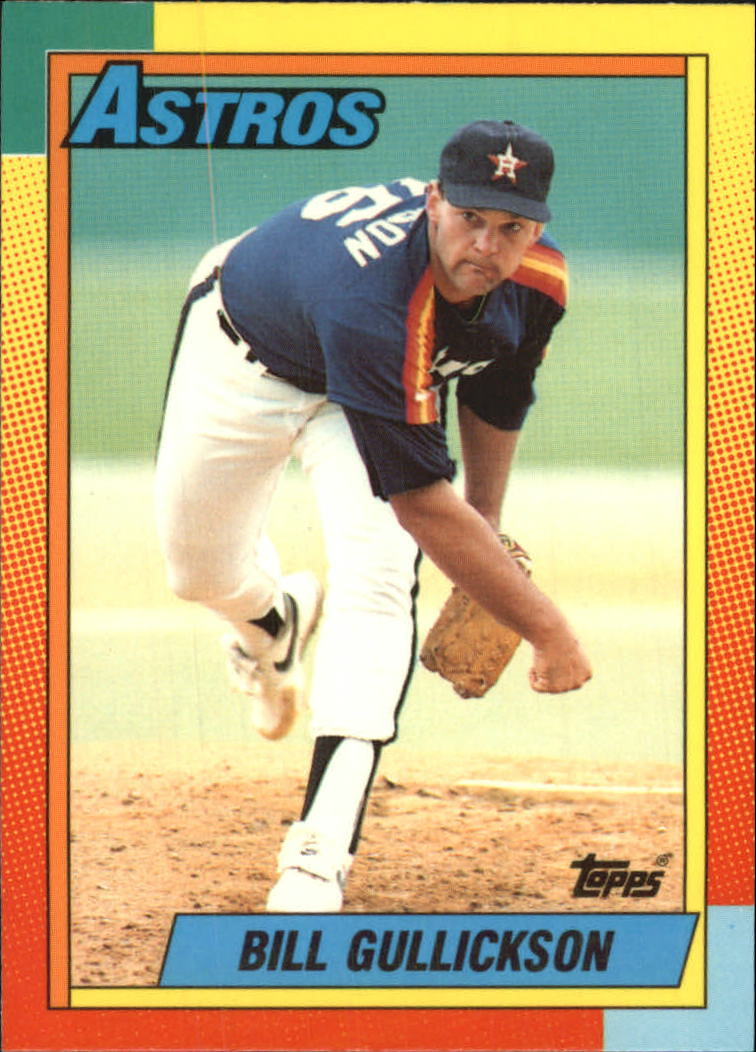 1990 Topps Traded Tiffany #34T Bill Gullickson front image
