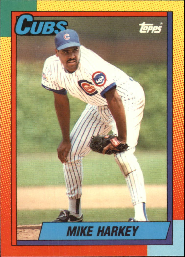 1990 Topps Traded Tiffany #36T Mike Harkey