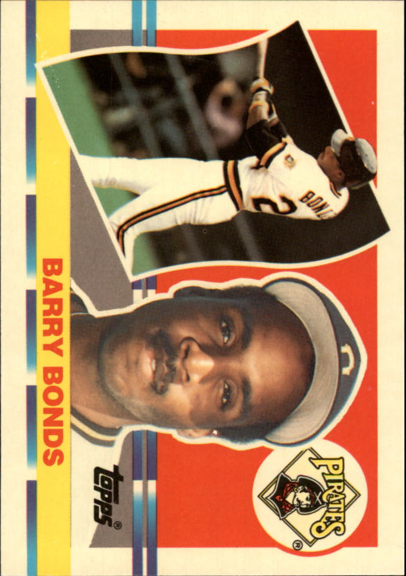 1990 Topps Big #128 Barry Bonds