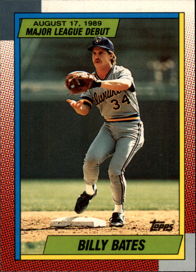 1990 Topps Debut '89 #9 Billy Bates
