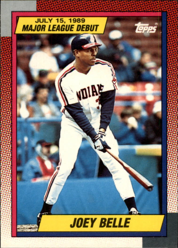 1990 Topps Debut '89 #14 Albert Belle