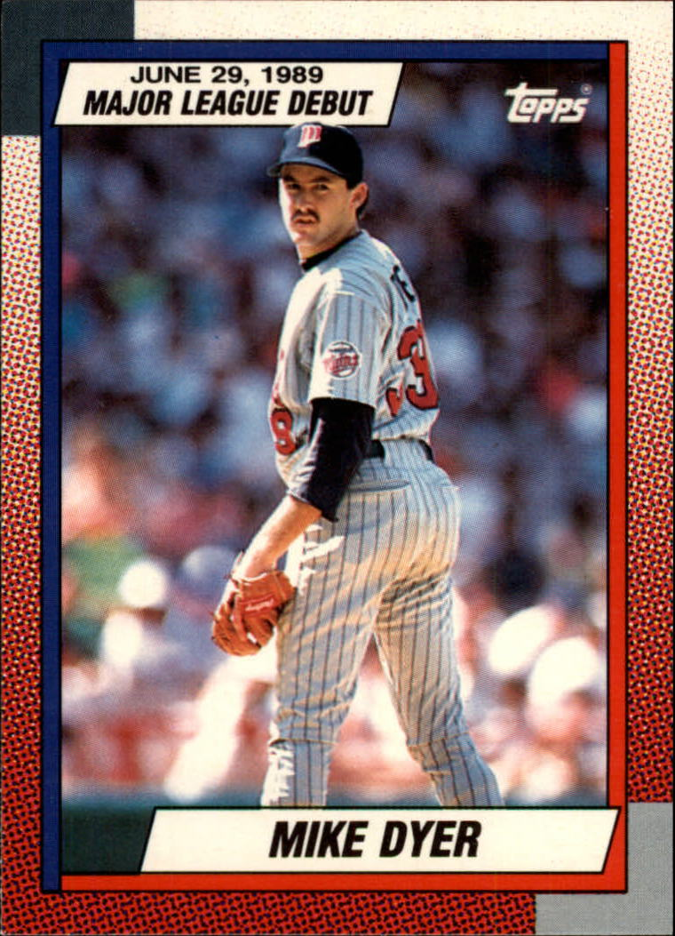 1990 Topps Debut '89 #33 Mike Dyer
