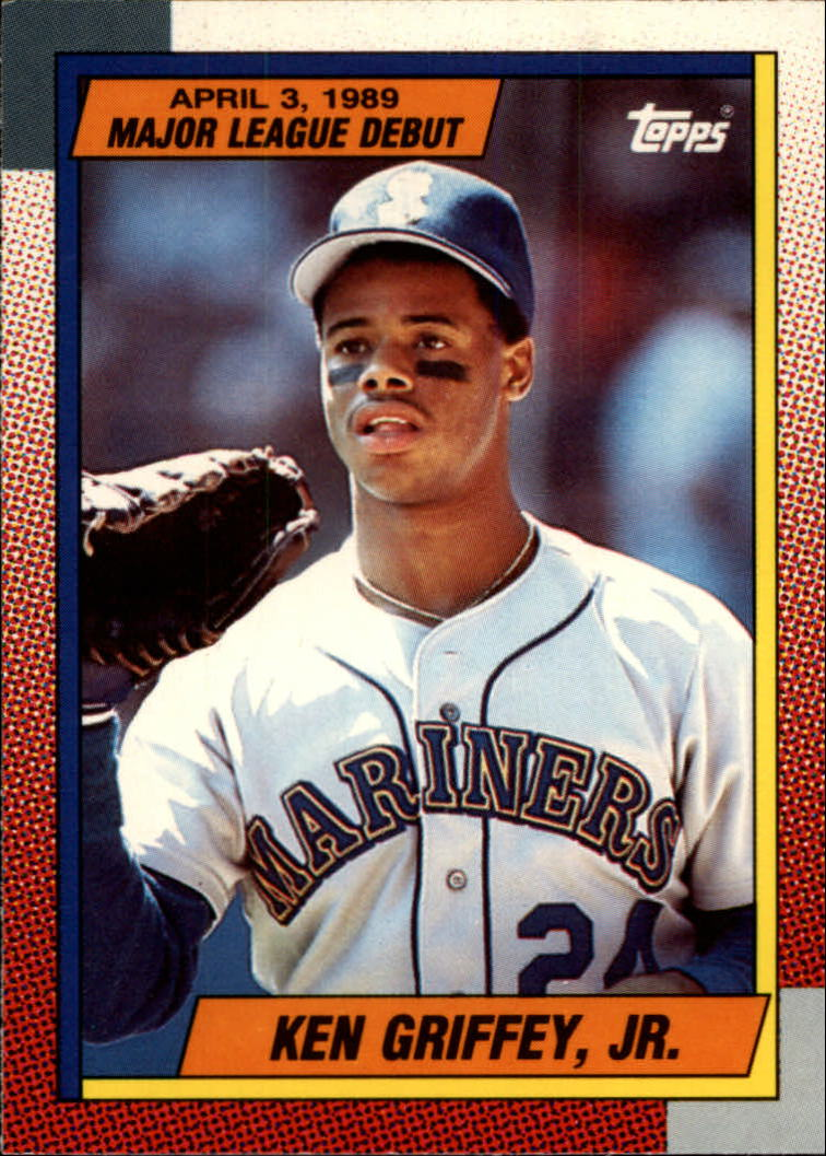1990 Topps Debut '89 #46 Ken Griffey Jr.