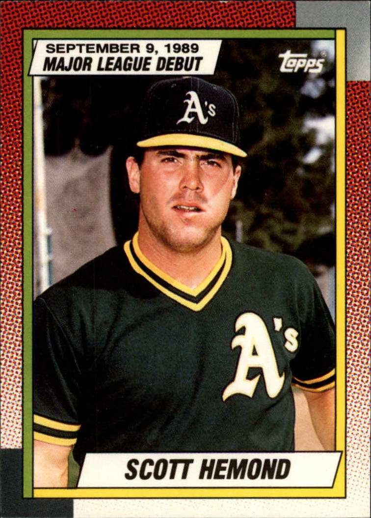 1990 Topps Debut '89 #54 Scott Hemond