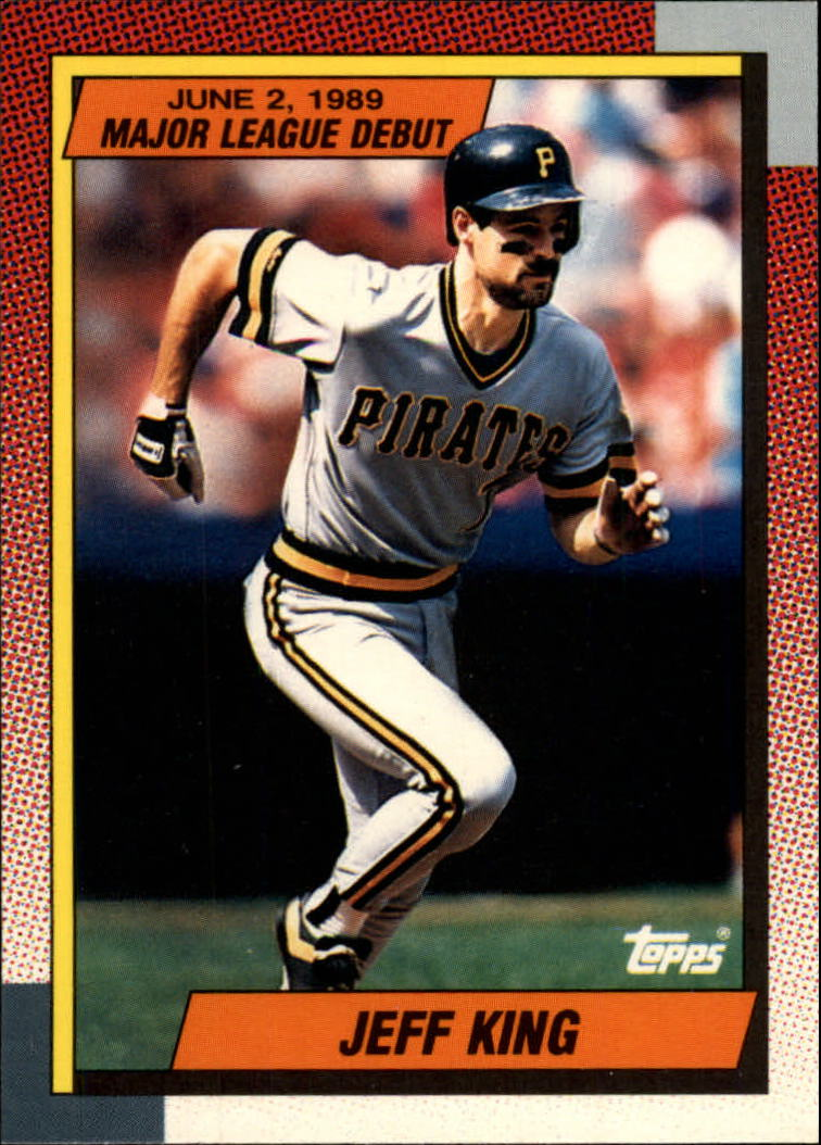 1990 Topps Debut '89 #66 Jeff King
