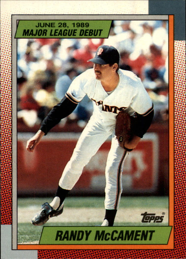1990 Topps Debut '89 #77 Randy McCament