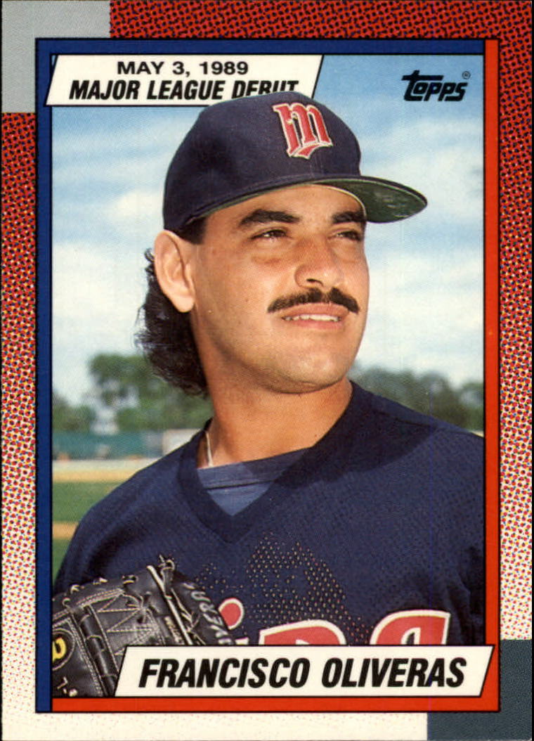 1990 Topps Debut '89 #92 Francisco Oliveras