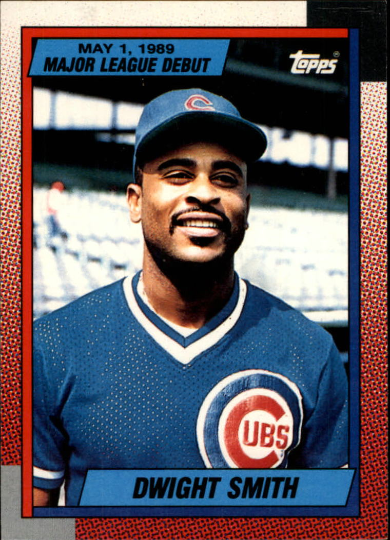 1990 Topps Debut '89 #116 Dwight Smith front image