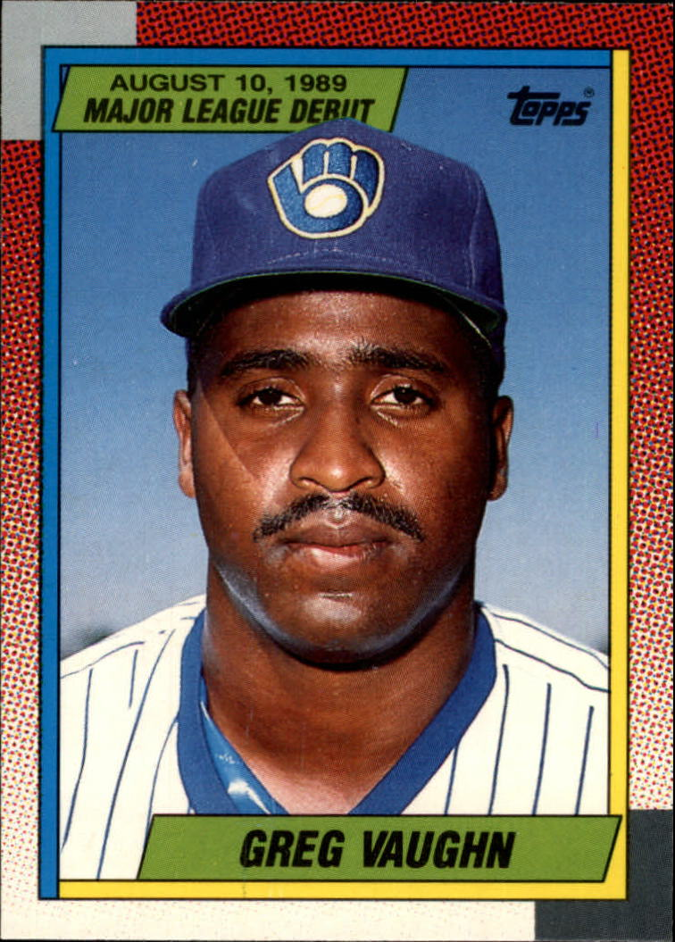 1990 Topps Debut '89 #128 Greg Vaughn