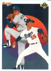 1990 Upper Deck #10 Orel Hershiser TC