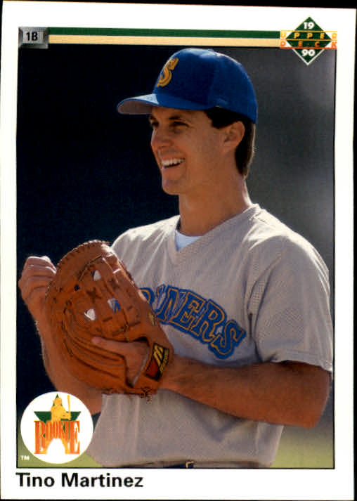 1990 Upper Deck #37 Tino Martinez