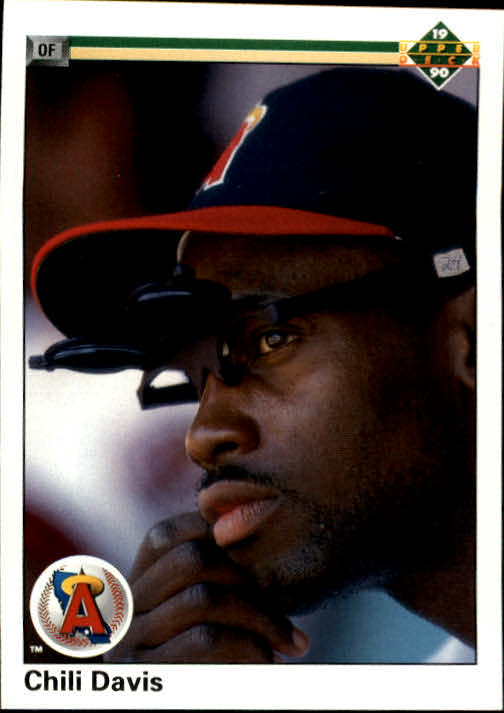 1990 Upper Deck #38 Chili Davis