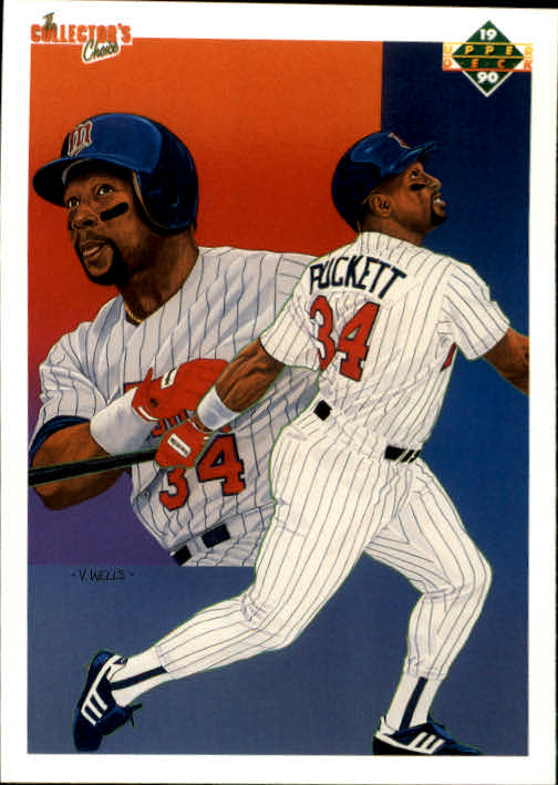 1990 Upper Deck #48 Kirby Puckett TC
