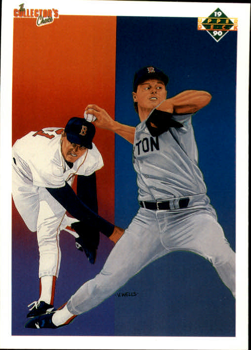 1990 Upper Deck #57 Roger Clemens TC